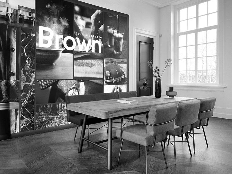 Brown Kantoor